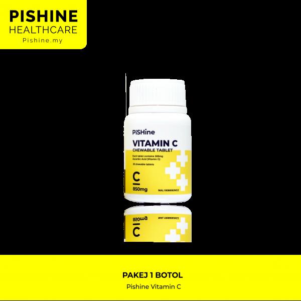 pishine vitamin c pakej 1 botol